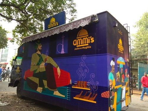 Food Truck Food Carts Noida New Concept Technologies Id