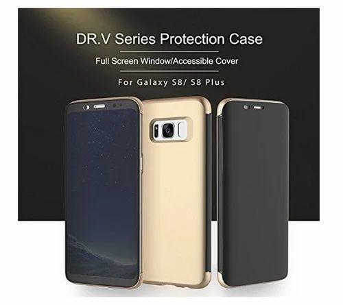 pretty nice 485e1 99daa Rock Flip Wallet Slim Flip Case Cover For Samsung Galaxy S8