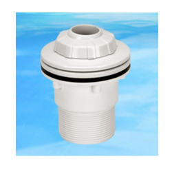 PVC Outlet Fitting (For Vinyl Pool), Size: 1/2 and 1 inch