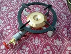 Iron Canteen Gas Burner, For Commercial, Single