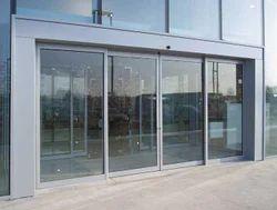Automatic Sliding Door Glass