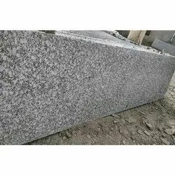 Polished S White Granite Slabs, For Flooring, Thickness: 10-15 mm