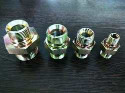 Brass Hydraulic Hex Nipple