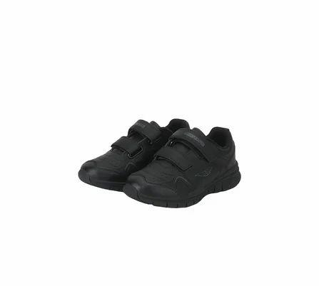 Red Tape Black kids school shoes