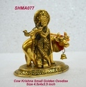 Cow Krishna Small Golden Oxodise
