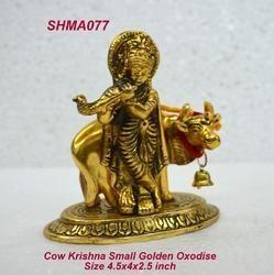 Cow Krishna Small Golden Oxodise