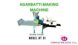 Automatic incense stick making machine