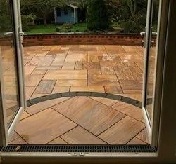 Teakwood Rainbow Sandstone Tiles