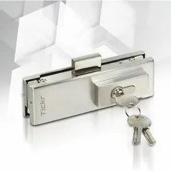 Bottom Glass Door Lock