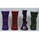 Glass Flower Vases, Size: 8 Inch