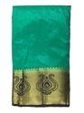 Designer Golden Border Silk Saree