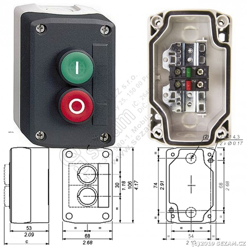 XAL D213 Push Button Station, Push Button Control Station, पुश बटन स्टेशन -  Electro Automation Industries, Faridabad | ID: 20859914297