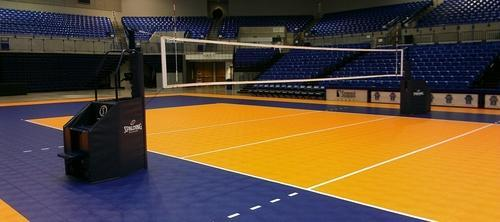 European Indoor Volleyball Court Flooring, Rs 70 /square feet | ID ...