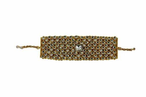 49c3b764daf06 Ankur Stylish Gold Plated Kundan Bracelet For Women