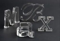 Designer Acrylic Letter Cutting Service