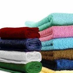 Cotton Plain Bath Towel, 250-350 GSM, Size: 75x150 Cm