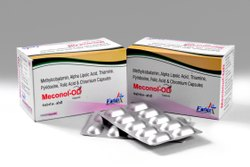 Mecobalamin 1500mcg Alpha Lipoic Acid 100mg Pyridoxine 3mg Folic Acid 1.5mg Capsule