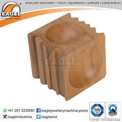 Jewelry Tools Wood Doming Block