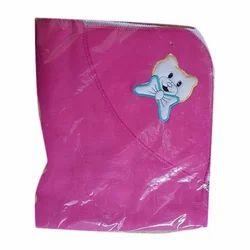 Chhote Janab Pink Printed Baby Blanket
