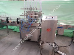 Edible Oils Bottle Filling Machine