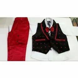 Cotton Boys Party Wear Stylish Suit, 0-32, Age: 3-10