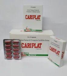 Cariplat Cap Carica Papaya Extract & Tinospora Cordifolia Extract
