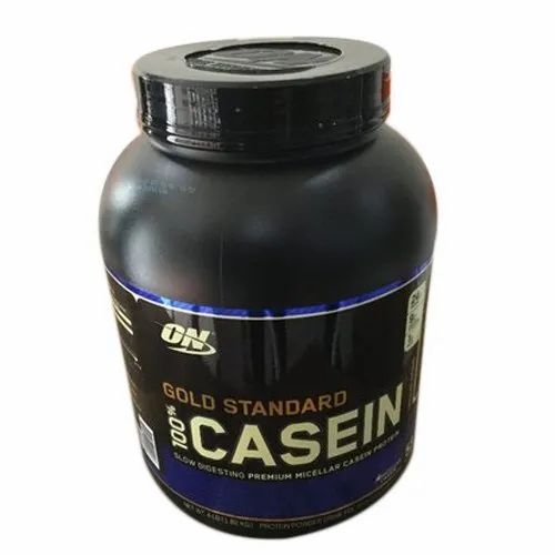Optimum Nutrition Casein Proteins On Gold Stander Casein Protein Powder, Packaging Type: Plastic Container