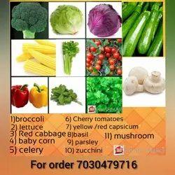 Organic Exotic Vegetables