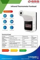 Forehead Temperature Checking Machine With Display And Wall Mounting