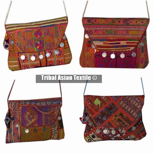 Ladies Handbag Tote Clutch Envelope Bag Ethnic Tribal Evening Retro purse DECO