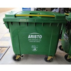 Open Top Rectangular 660 Ltr Aristo Dustbin