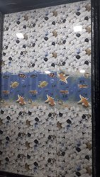 Ceramic Tiles Gera Designer Bathroom Tiles, Thickness: 5-10 mm