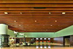 Modern Baffle Ceiling