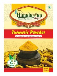 100 Gram Turmeric Powder Pouch