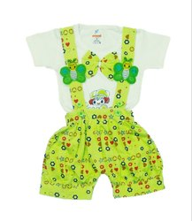 Kids Printed Stylish Dungaree