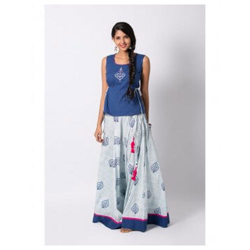 781cce5332 Long Maybell Printed Skirt Top, Rs 2199 /piece, Opus Fashions ...