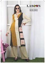 6063 Designer Woolen Kurtis