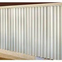White PVC Vertical Blind