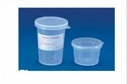 Plastics Sample Container