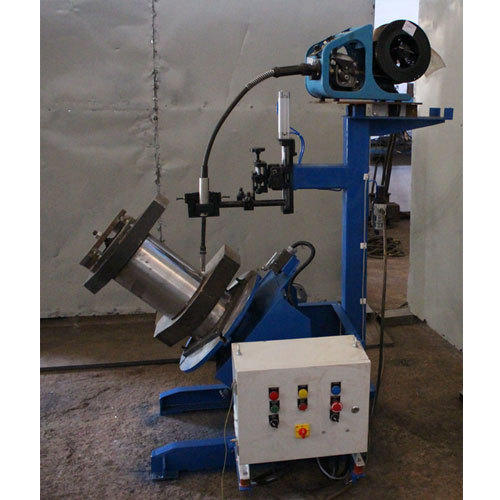 Welding Positioner with Torch Stand For Mig Welding
