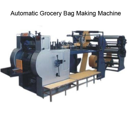 Automatic Grocery Bag Making Machine
