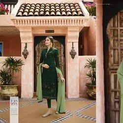 Fancy Embroidery Georgette Suit