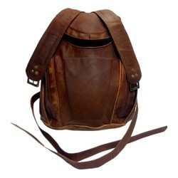 Genuine Leather Traveling Backpack BP117