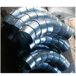 Galvanized Iron Electric Round GI Duct Bend, For Pipe Fittings