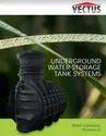 Underground Water Tanks vectus water tank