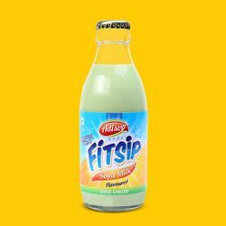 Fitsip Sterilised Natural Soya Milk
