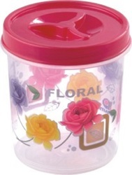 Printed Airtight Plastic Container 350 ml