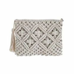Casual Luxurious Macrame Designer Clutch Handbags