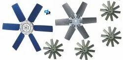 6 Blades Aluminum Impeller Dia 600 MM
