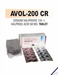 Sodium Valproate 134 And Valproic Acid 58 Mg Tablet